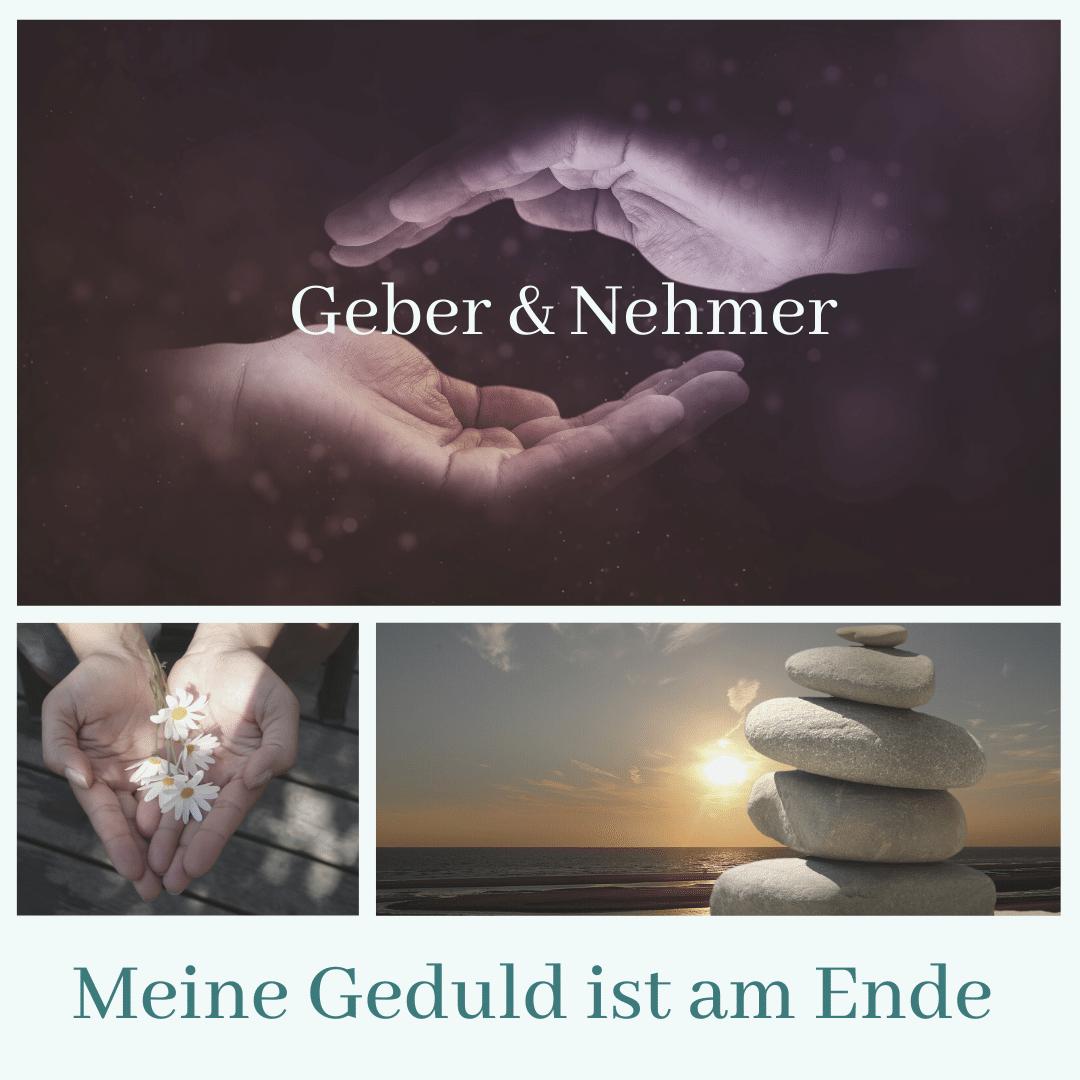 Geber und Nehmer
